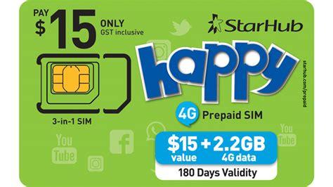prepaid internet sim starhub mobile