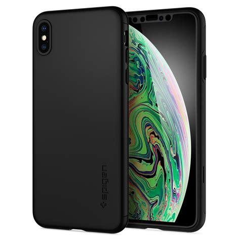 koep spigen iphone xs max case thin fit  black