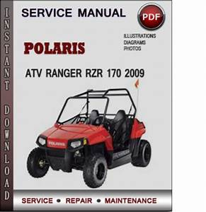 Polaris Atv Ranger Rzr 170 2009 Factory Service Repair Manual Downl