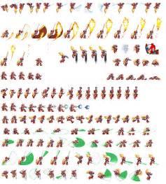 Megaman Zero Sprite Sheet