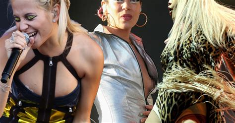 V Festival 2014 Wardrobe Malfunctions