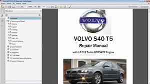 Volvo S40 Workshop Repair Manual