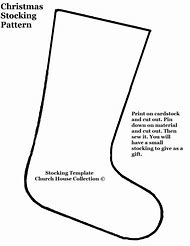 Best christmas stocking template ideas and images on bing find printable christmas stocking pattern template maxwellsz