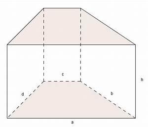 Grundfläche Berechnen Prisma : prisma mit trapezf rmiger grundfl che ~ Themetempest.com Abrechnung