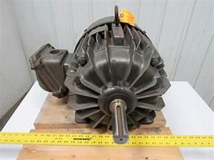 Century Electric 25hp Ac Motor 284t 1750rpm 230  460v 60hz