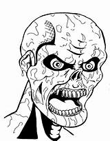 Scary Coloring Pages Mummy Monster Creepy Ancient Printable Dad Drawing Mom Another Getcolorings Getdrawings Sheet Colorings Colori sketch template