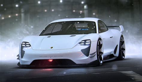 porsche electric mission e porsche expects mission e all electric sedan to be as