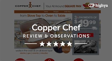 copper chef pan reviews    scam  legit