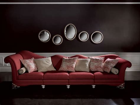 Sofa With Sinuous Back, For Reception And Lounge Area