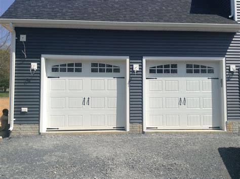 clopay 9x7 insulated garage door carriage doors sted steel mount garage doors