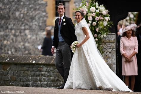 Kate Wears Pink Alexander Mcqueen Dress To Pippa Middleton