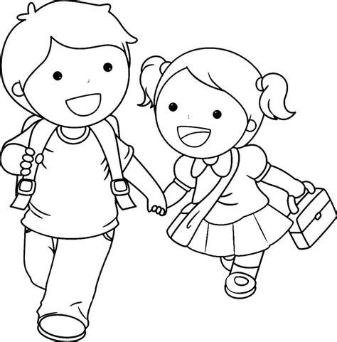 disegni da colorare per bambini virina sta disegno di bambini delle elementari da colorare