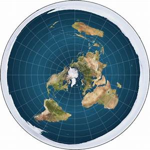 Flat Earth Map ~ Truth Tokens