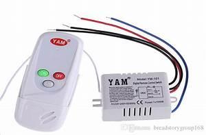 2019 1 Way Ir Digital Wireless Remote Control Switch
