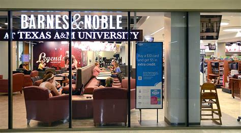 barnes noble bookstore at texas a m university