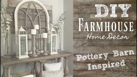 Pottery Barn Inspired by Diy Industrial Farmhouse Style Home Decor Pottery Barn
