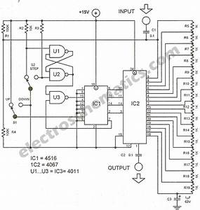Electronic Potentiometer Circuit
