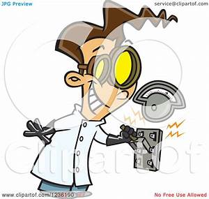 Electricity clipart mad scientist - Pencil and in color ...