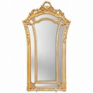 Grand Miroir Baroque : tr s grand miroir baroque dor de style louis xvi vas ~ Teatrodelosmanantiales.com Idées de Décoration