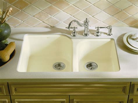 shallow sinks in kitchen standard plumbing supply product kohler k 5931 4u k4 5173