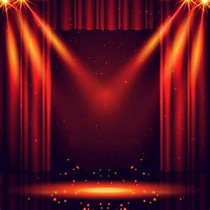 Red Curtain Show Light Stage Laser Sparkly backdrop Vinyl ...