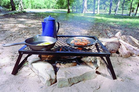 camping cooking grill equipment outdoor campfire grills portable