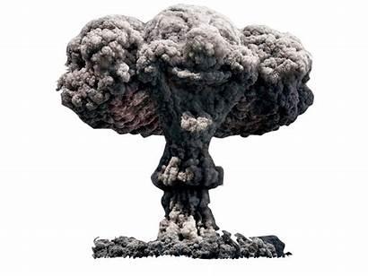 Mushroom Cloud Explosion Nuclear Clipart Transparent Clip