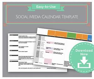 free download gtgt social media calendar template With social media planning calendar template