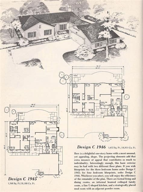 vintage house plans vintage house plans  tudor  shape brick veneer posted