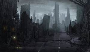 Ruined city by Mihawq on DeviantArt