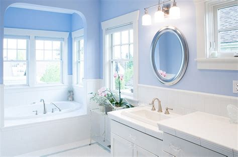 bathroom paint ideas blue blue and white interiors living rooms kitchens bedrooms