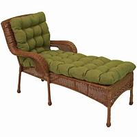 outdoor chaise lounge cushions Blazing Needles All-weather UV-resistant Squared Outdoor ...