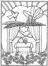 Coloring Pages Feast Tabernacles Sukkot Torah Bible Religiocando Simchat Jewish Hebrew Festivals Worksheets Crafts Sukkah Sukkoth Template Feste Ebraiche Disegni sketch template