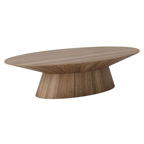 43 modern center table design ideas for living rooms. Modloft Sullivan Walnut Oval Modern Coffee Table   Eurway