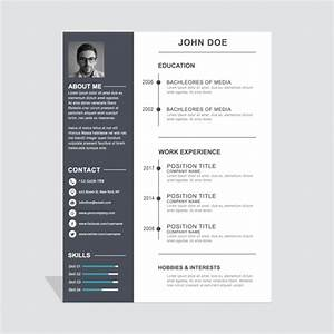 30 Simple And Basic Resume Templates For All Jobseekers