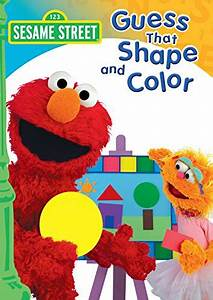 Animal Cell Parts Amazon Com Sesame Street Guess That Shape And Color