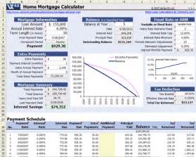 Estimate Home Loan Payments by Free Home Mortgage Calculator For Excel
