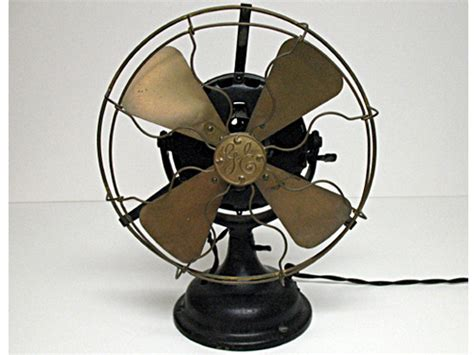 1908 ge 12 quot antique desk fan