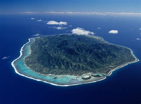 Rarotonga Aerial View Scenic Flights Avaliable From Air