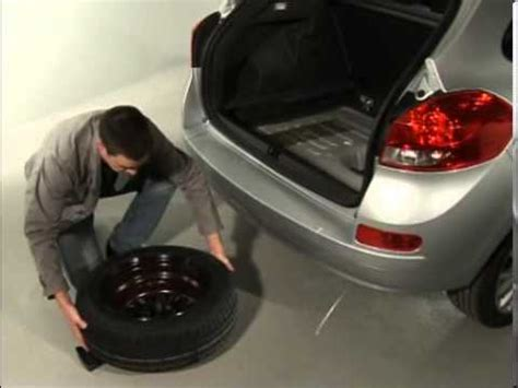 clio emergency spare wheel youtube