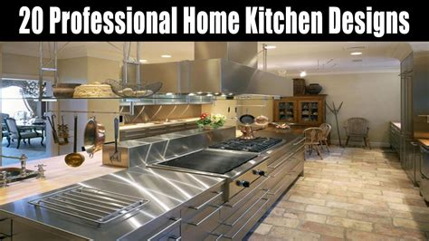 professional home kitchen designs youtube