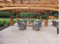 best existing concrete patio design ideas Stamped Concrete Patio Floor Design & Pattern With [10 ...