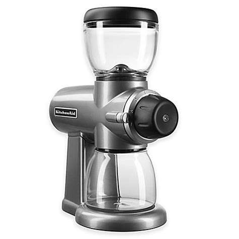 Buy Kitchenaid® Burr Coffee Bean Grinder In Silver From