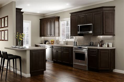 cappuccino coloured kitchen cabinets quincy espresso www jsicabinetry