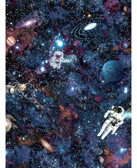 intergalactic space wallpaper black holden  bedroom