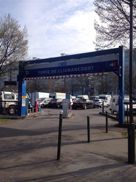 parking porte de clignancourt porte de clignancourt parking in parkme