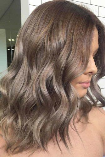 Mousy Ash Brown by 34 Sassy Looks With Ash Brown Hair