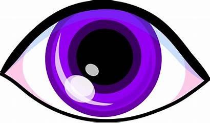 Eye Violet Clip Purple Sweetclipart
