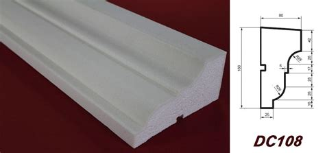 Baustoff Polystyrol Schnell Flexibel Und Leicht In Der Verarbeitung by 2 Meter Fensterbankprofil Hausfassade Au 223 En Sto 223