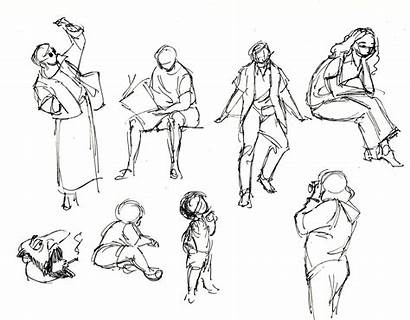 Quick Sketches Drawings Beginner Animation Things Student